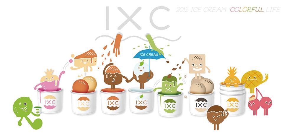 手工冰淇淋IXC法式冰品店
